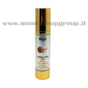 crema viso luxory con bava di lumaca ed acido ialuronico