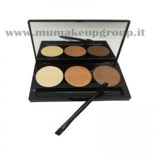 Palette ombretto 3 colori Mu Make Up