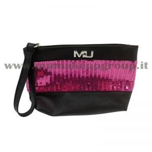 Pochette con fascia paillettes Mu Make Up