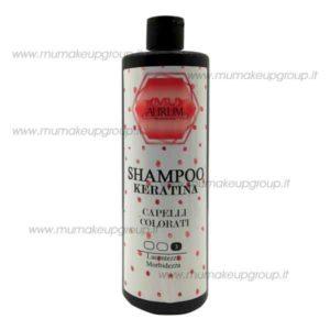 Shampoo keratina Mu Aurum Capelli Colorati