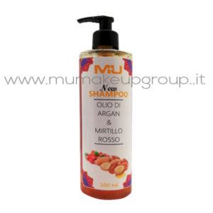 Shampoo Olio di Agran & Mirtillo Rosso