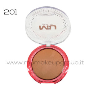 Terra cotta bronzing powder serie red