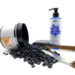 promo cera in perle+ spatola + olio dopo cera
