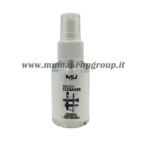 spray igienizzante pennelli trucco