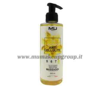 Olio corpo anti cellulite