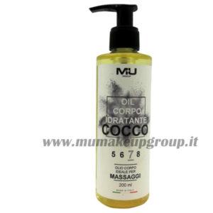 Olio corpo idratante cocco