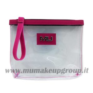 Pochette mare trasparente mu make up