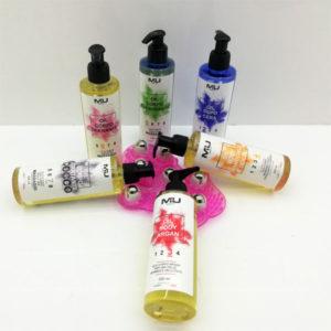Promo olio corpo + guanto per massaggio