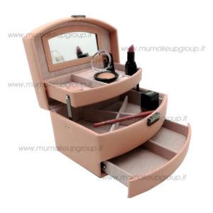 Kit beauty case + rossetto mercedesz + matita + ombretto +smalto