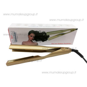 Piastra 2 in 1 hair curling iron