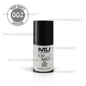 Top matt 002 velvet effect
