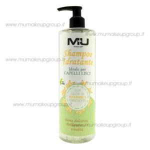 shampoo idratante per capelli lisci