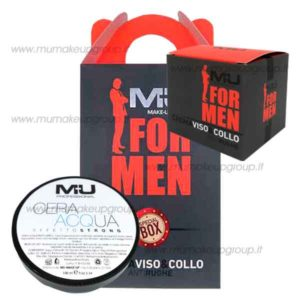 kit box for men con crema viso e cera per capelli