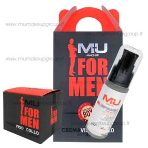 kit box for men con crema viso e gel dopobarba