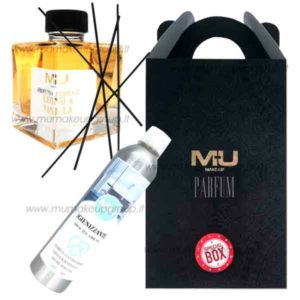kit box profumo ambiente 100 ml e spray igienizzante