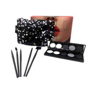 kit glamour star con palette e 5 pennelli ombretto