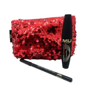 kit glamour star con mascara ciglia finte e matita