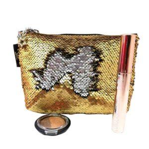 kit glamour star con mascara long lash gold ed ombretto duo