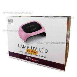 lampada doppia 2 mani uv led 108W