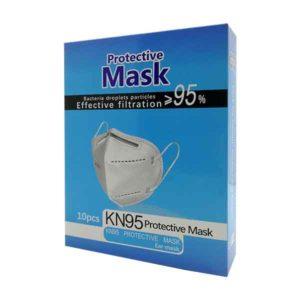 mascherine protettive ffp2 KN95 10 pezzi