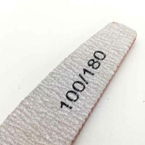 lima per unghie ad arco 150/180 5 pezzi