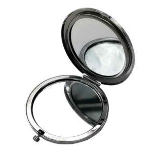 Specchio da borsa diamante