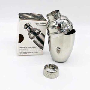 shaker per cocktail in acciaio inox