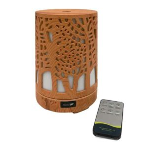 diffusore ambiente cilindro effetto legno intarsiato
