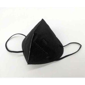 mascherina nera protettiva modello ffp2 12 pezzi
