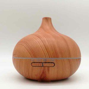 Diffusore ambiente in legno con cassa bluetooth