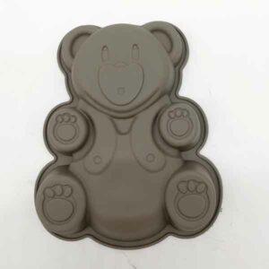 Formina mini orsetto per dolci in silicone