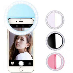 selfie ring light anello di luce led