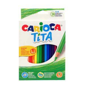 36 pastelli carioca tita
