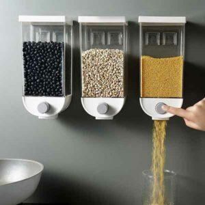 Dispenser per cereali da parete