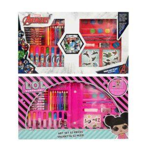valigetta 52 pezzi kit da colorare