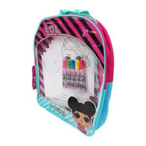 zainetto bambini con kit da colorare