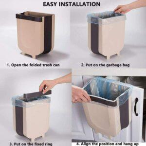 cestino richiudibile per rifiuti