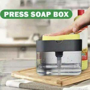 dispenser con pompa per sapone