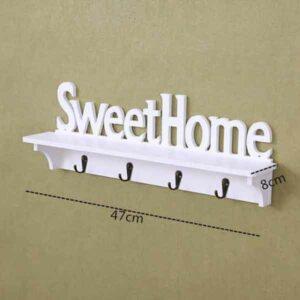 mensola shabby sweethome porta oggetti