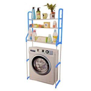mensola per lavatrice 2 ripiani