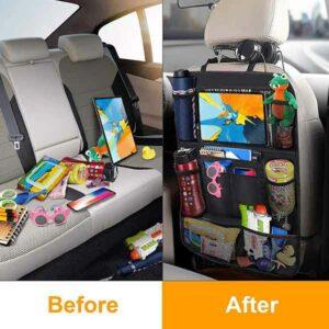 porta oggetti per schienale sedile auto