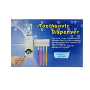 porta spazzolini e dentifricio da parete