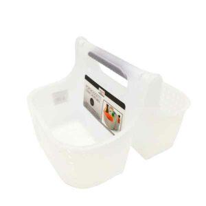 Portaoggetti cucina e bagno con manico