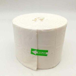rotolo 500 pads unghie in pura cellulosa
