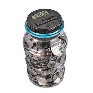 Salvadanaio digitale conta monete