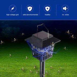 Lanterna solare da esterni per zanzare