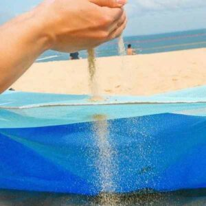 Maxi telo a rete da spiaggia