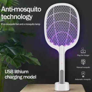 Racchetta evolution illuminata per insetti e zanzare