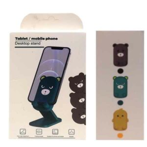 supporto da tavolo smartphone orsetto