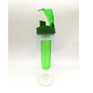 Borraccia di plastica con filtro per aromatizzare